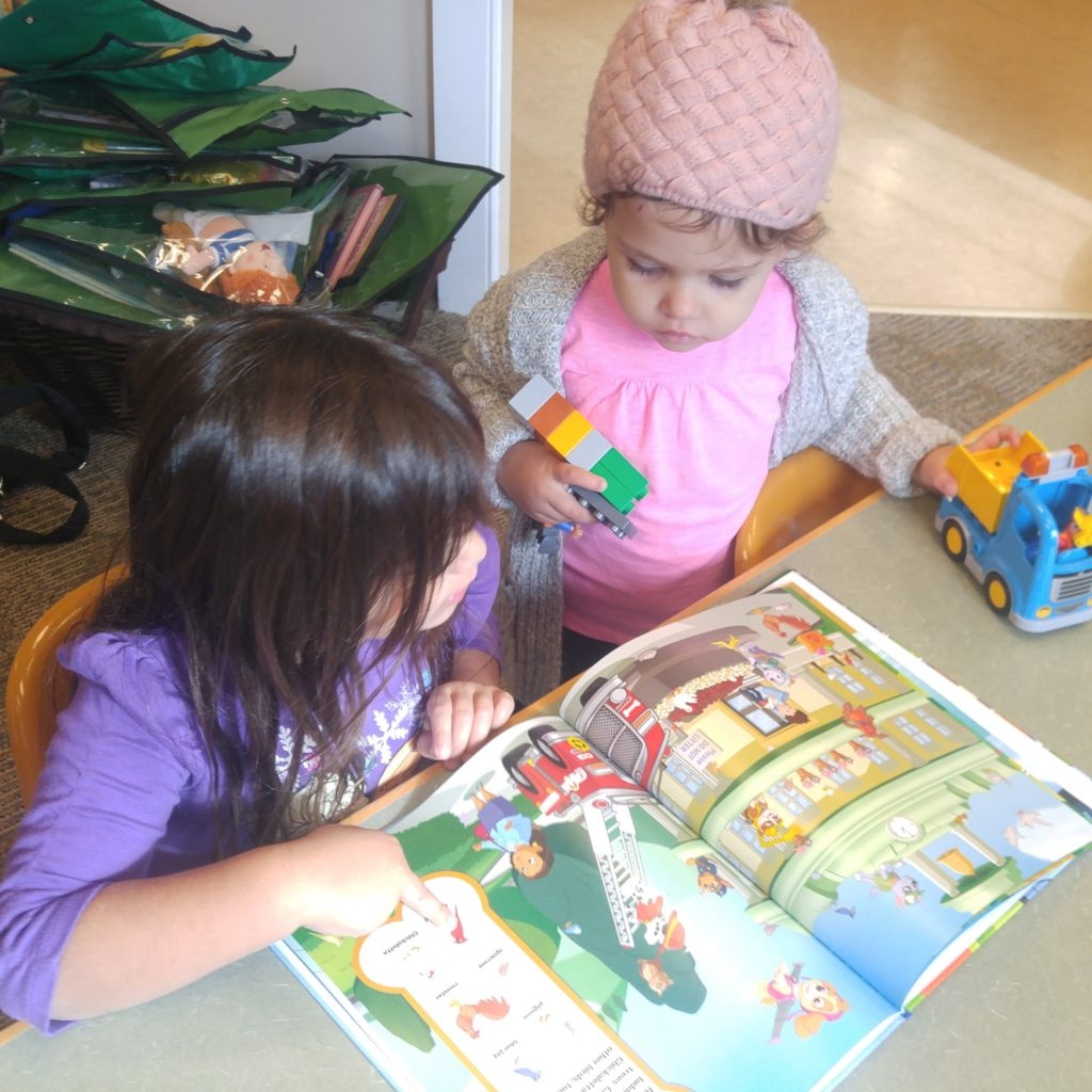 Photo of children reading